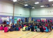 Ouverture officielle à l'école Marguerite-Bourgeoys
